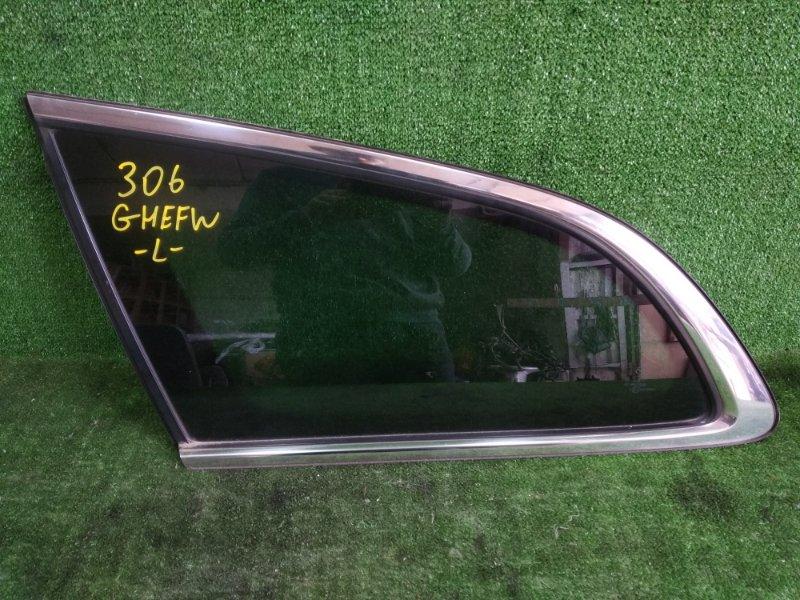 Стекло собачника Mazda Atenza GHEFW LFVD 2008 заднее левое (б/у)