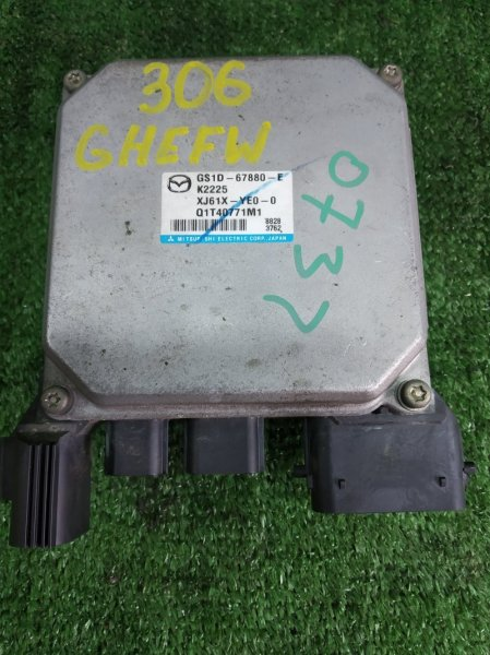 Блок управления рулевой рейкой Mazda Atenza GHEFW LFVD 2008 (б/у)