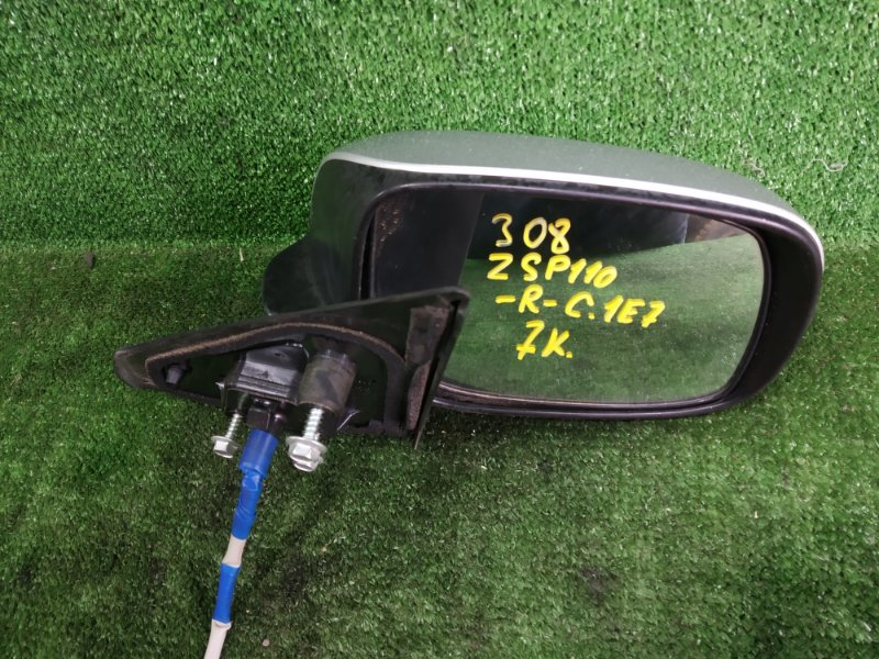 Зеркало Toyota Ist ZSP110 2ZRFE 2008 переднее правое (б/у)