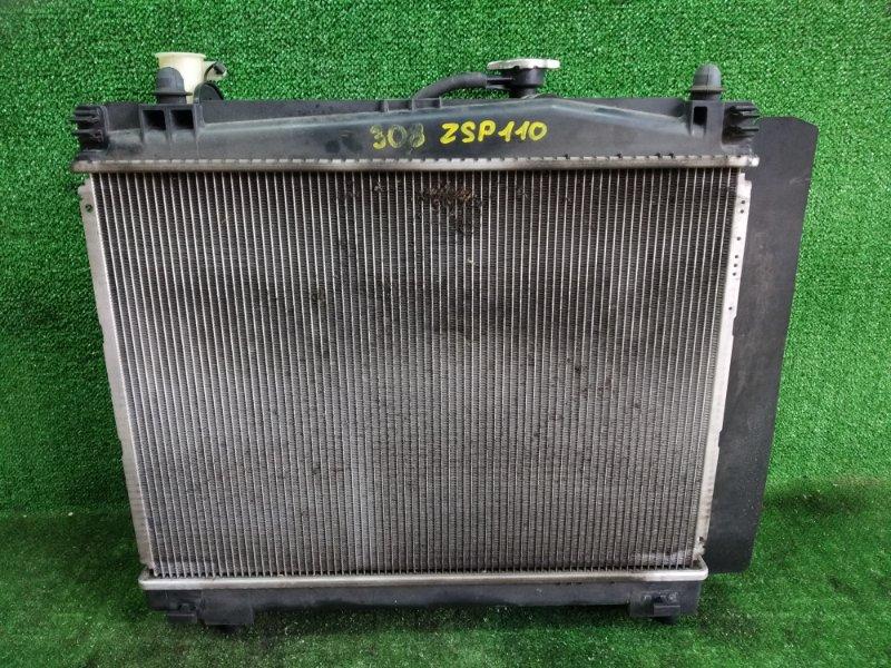 Радиатор основной Toyota Ist ZSP110 2ZRFE 2008 (б/у)