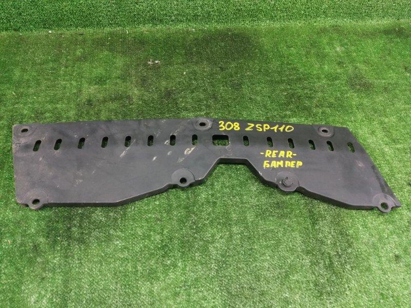 Защита бампера Toyota Ist ZSP110 2ZRFE 2008 задняя (б/у)