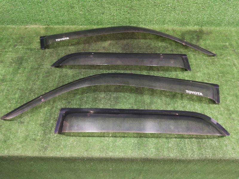 Ветровики комплект Toyota Hilux Surf RZN185 3RZFE 2001 (б/у)