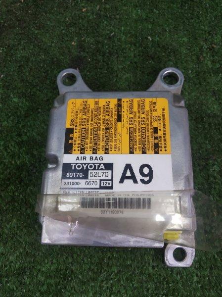 Блок управления airbag Toyota Vitz NSP135 1NRFE 2011 (б/у)