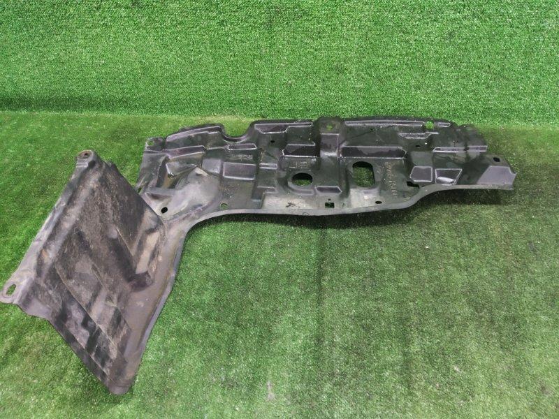 Защита двигателя Toyota Vitz NSP135 1NRFE 2011 передняя левая (б/у)