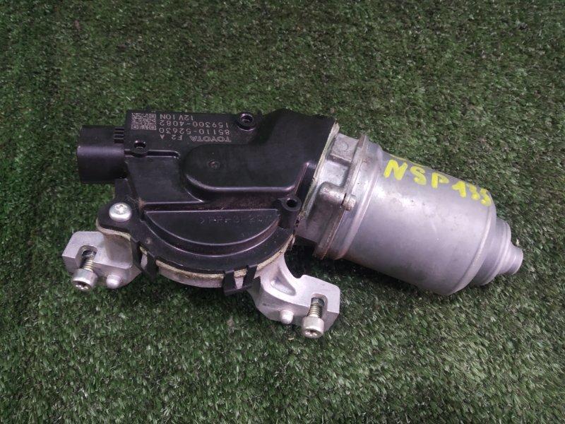 Мотор дворников Toyota Vitz NSP135 1NRFE 2011 (б/у)