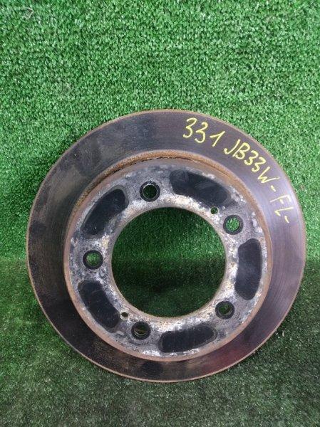 Тормозной диск Suzuki Jimny Wide JB33W G13B 1998 передний левый (б/у)