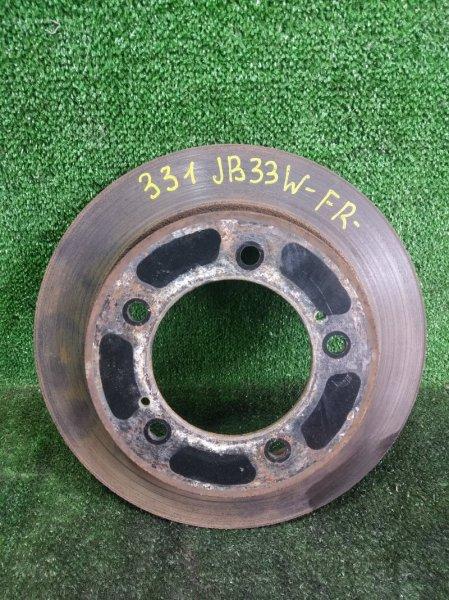 Тормозной диск Suzuki Jimny Wide JB33W G13B 1998 передний правый (б/у)