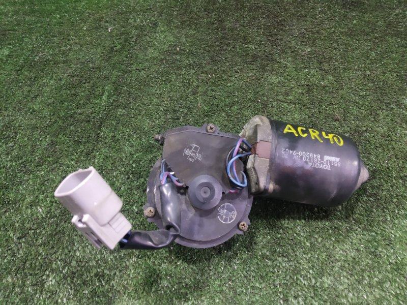 Мотор дворников Toyota Estima ACR40 2AZFE 2001 (б/у)