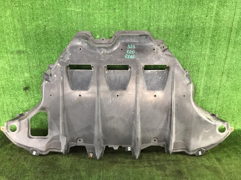Защита двигателя Nissan Leaf ZE0 EM61 2011 задняя (б/у)