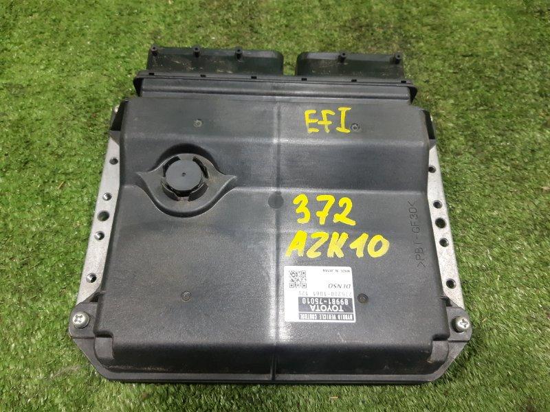 Блок управления efi Toyota Sai AZK10 2AZFXE 2010 (б/у)