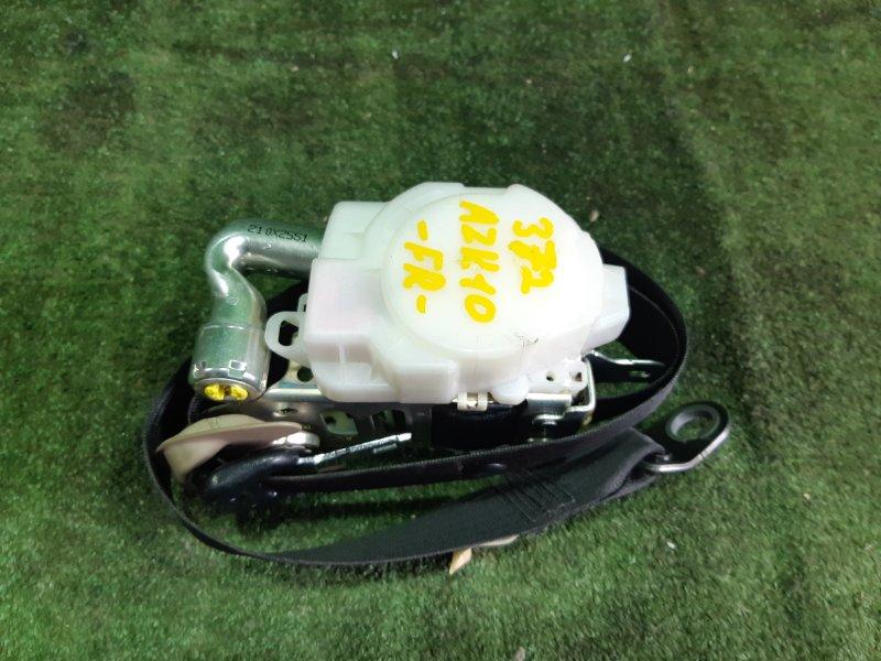 Ремень безопасности Toyota Sai AZK10 2AZFXE 2010 передний правый (б/у)