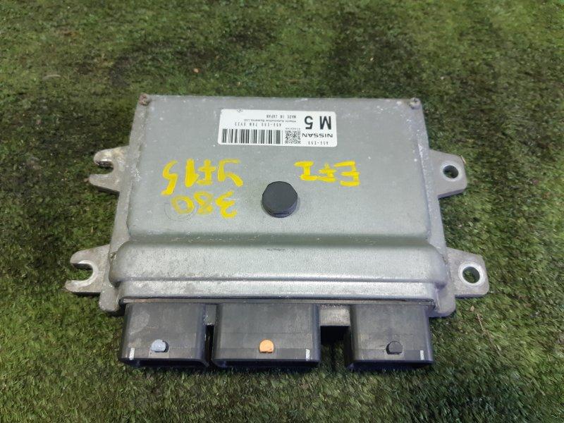 Блок управления efi Nissan Juke YF15 HR15DE 2010 (б/у)