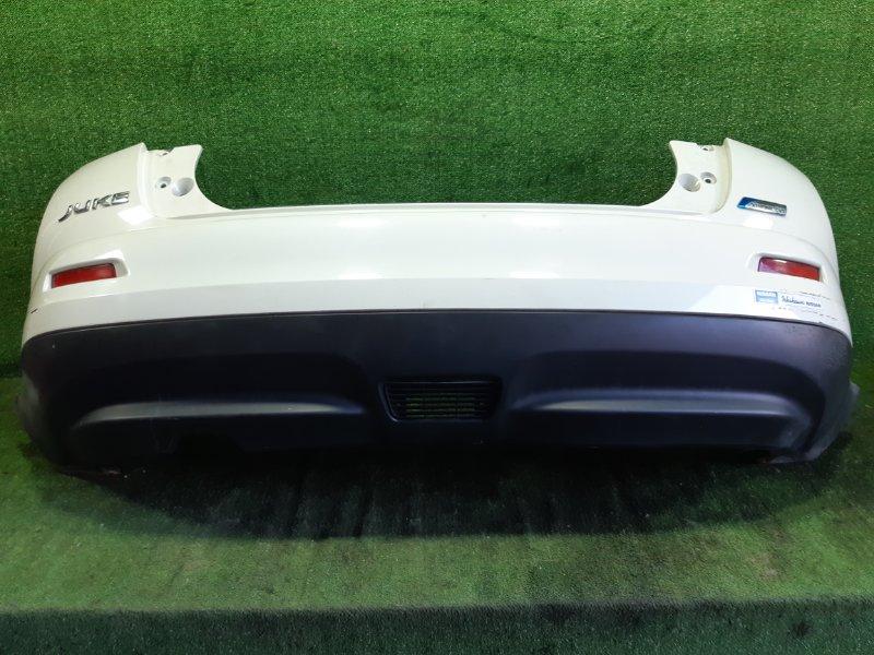 Бампер Nissan Juke YF15 HR15DE 2010 задний (б/у)