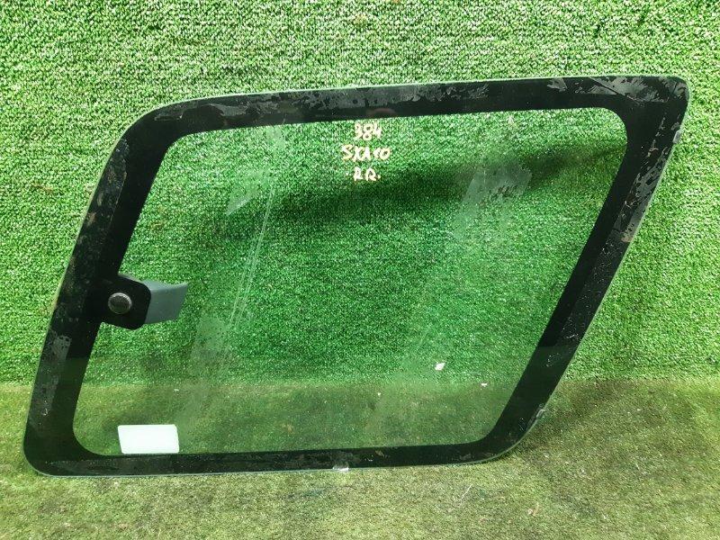 Стекло собачника Toyota Rav4 SXA10 3SFE 1994 заднее правое (б/у)
