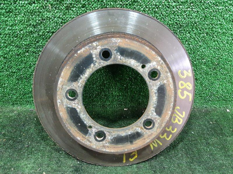 Тормозной диск Suzuki Jimny Wide JB33W G13B 1999 передний левый (б/у)