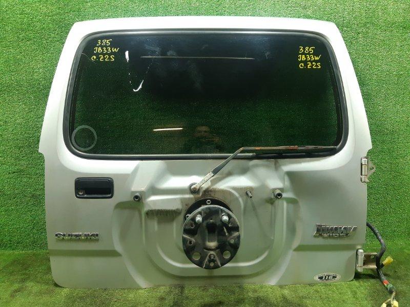 Дверь 5-я Suzuki Jimny Wide JB33W G13B 1999 (б/у)
