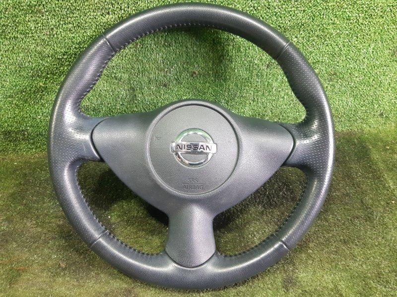 Руль с airbag Nissan Juke YF15 HR15DE 2010 (б/у)