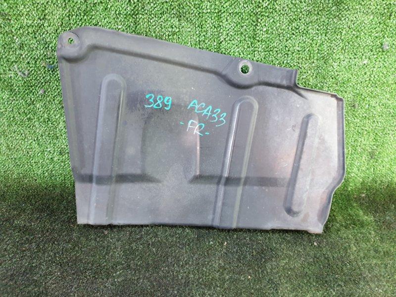 Защита двигателя Toyota Vanguard ACA33 2AZFE 2007 передняя правая (б/у)