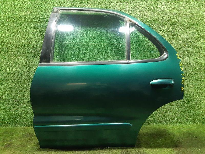 Дверь Toyota Cavalier TJG00 LD9 1997 задняя левая (б/у)