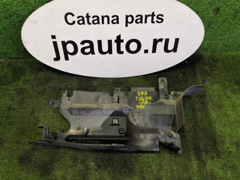 Защита двигателя Toyota Cavalier TJG00 LD9 1997 передняя правая (б/у)