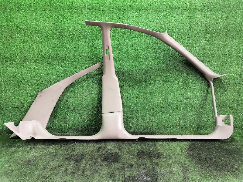 Обшивка стойки кузова Toyota Cavalier TJG00 LD9 1997 левая (б/у)