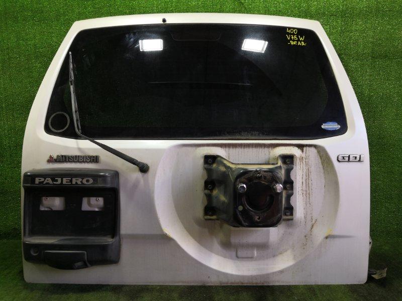 Дверь 5-я Mitsubishi Pajero V75W 6G74 2000 (б/у)
