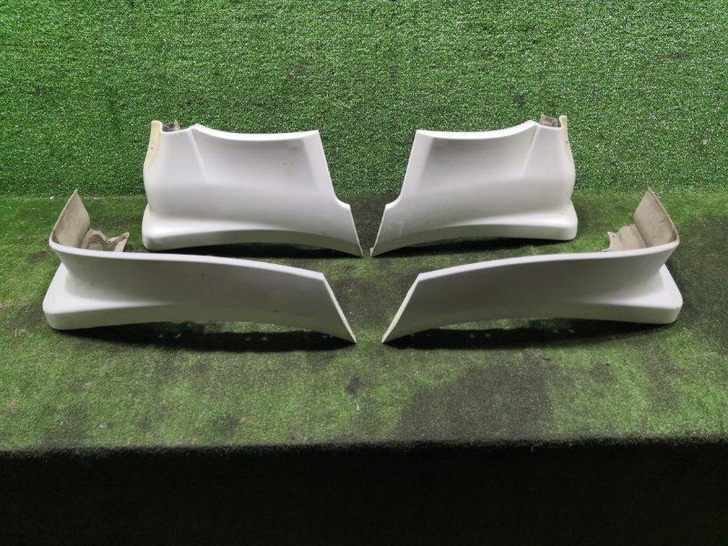 Брызговики комплект Mitsubishi Pajero V75W 6G74 2000 (б/у)