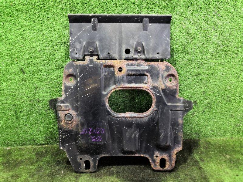 Защита двигателя Toyota Hilux Surf RZN215W 3RZFE 2003 задняя (б/у)