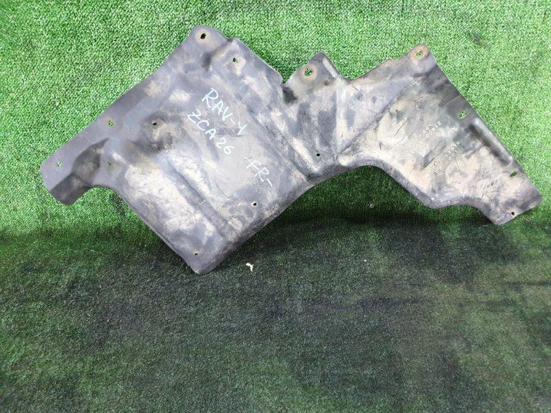 Защита двигателя Toyota Rav4 ZCA26 1AZ-FSE передняя правая (б/у)