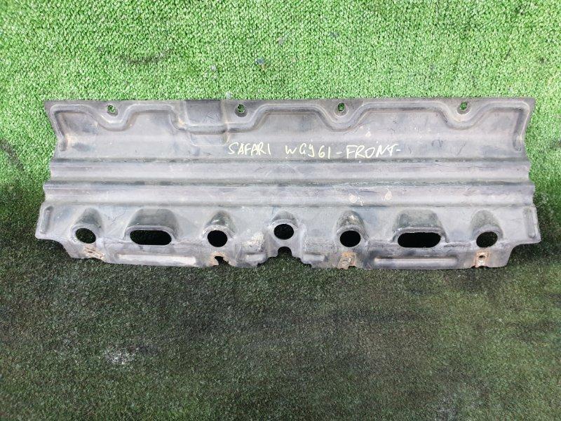 Защита двигателя Nissan Safari WGY61 TB45 передняя (б/у)