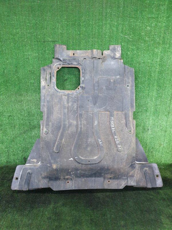 Защита двигателя Nissan Mistral R20 TD27T (б/у)