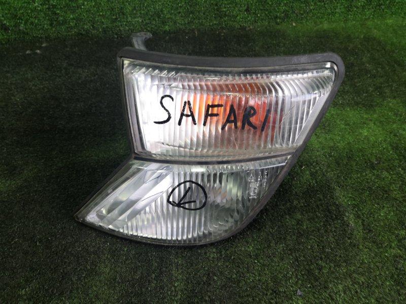 Габарит Nissan Safari WGY61 TB45E передний левый (б/у)