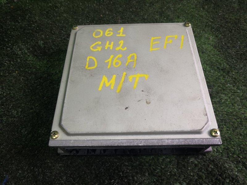 Блок управления efi Honda Hr-V GH2 D16A 1998 (б/у)