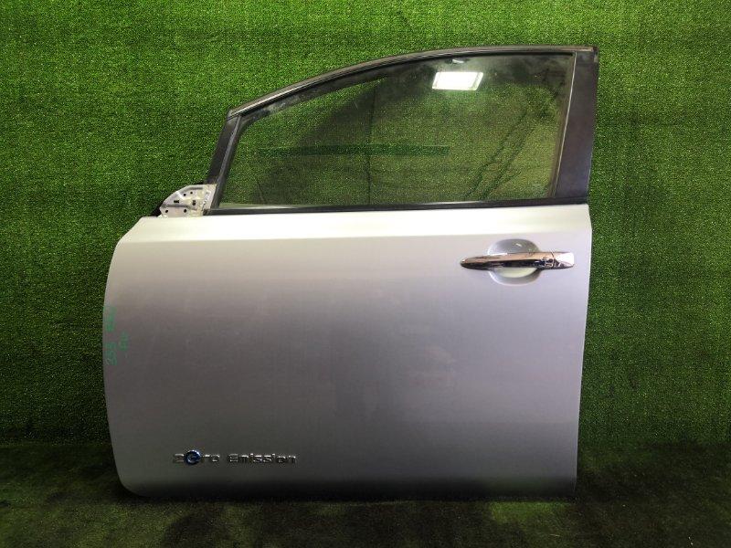 Дверь Nissan Leaf ZE0 EM61 2011 передняя левая (б/у)
