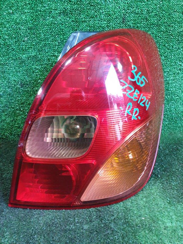 Стоп-сигнал Toyota Corolla Spacio ZZE124 1ZZFE 2002 задний правый (б/у)