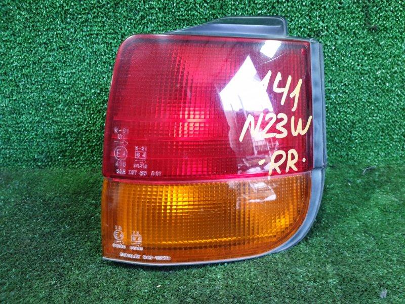 Стоп-сигнал Mitsubishi Rvr N23WG 4G63 1993 задний правый (б/у)