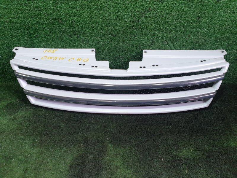 Решетка радиатора Mitsubishi Outlander CW5W 4B12 2007 (б/у)