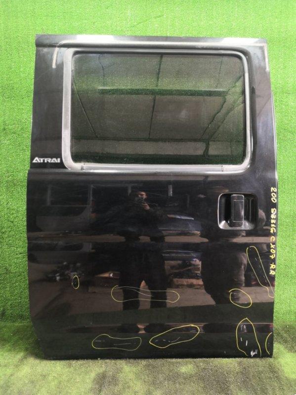 Дверь Daihatsu Atrai S331G KFDET 2007 задняя правая (б/у)