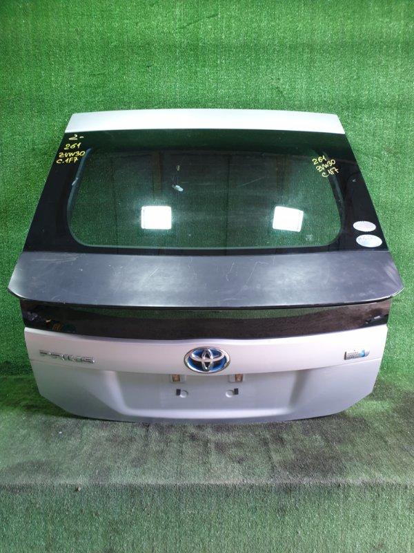 Дверь 5-я Toyota Prius ZVW30 2ZRFXE 2009 (б/у)