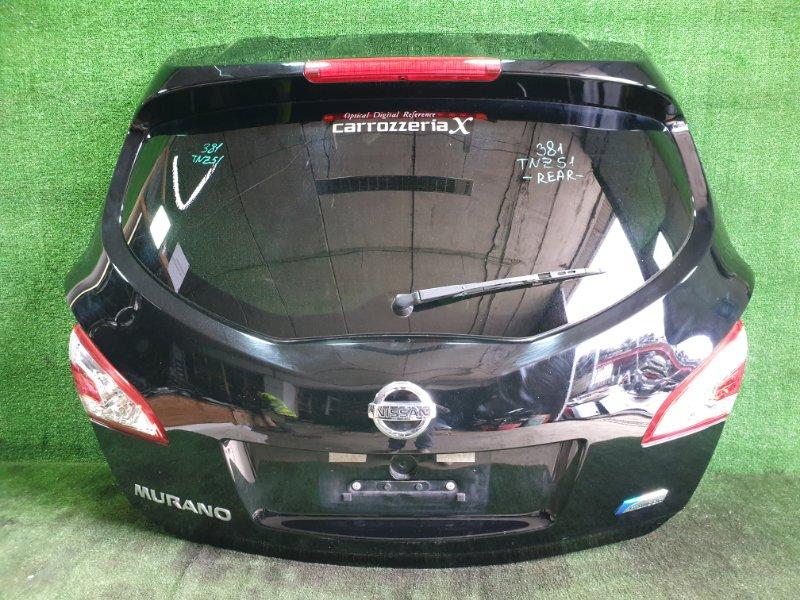 Дверь 5-я Nissan Murano TNZ51 QR25DE 2011 (б/у)