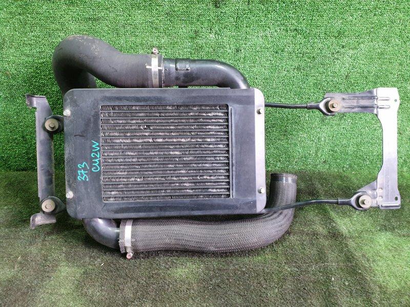 Радиатор интеркулера Mitsubishi Airtrek CU2W 4G63T 2002 (б/у)