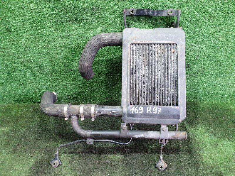 Радиатор интеркулера Mitsubishi Challenger K97 4M40T 1996 (б/у)