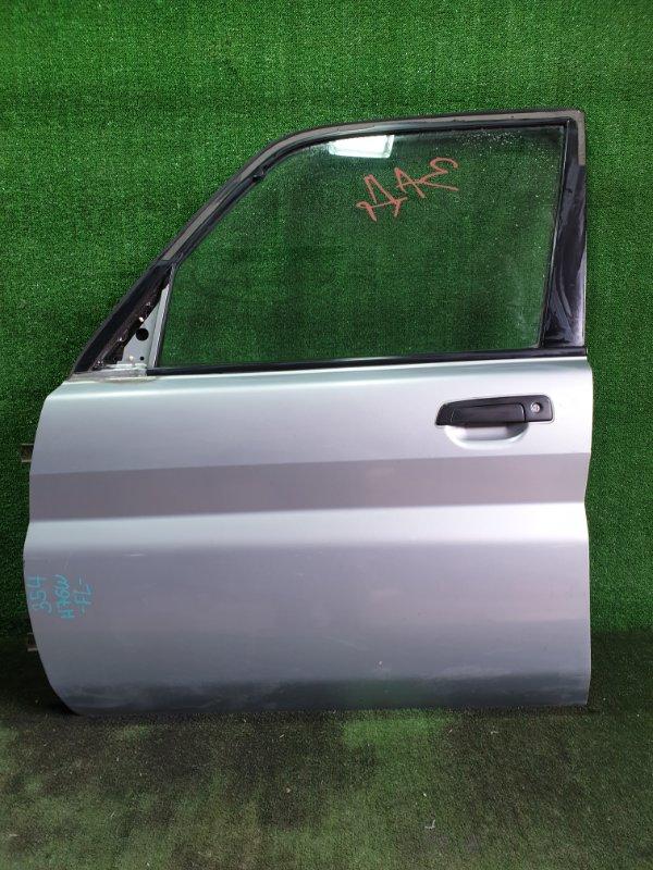Дверь Mitsubishi Pajero Io H76W 4G93 1998 передняя левая (б/у)
