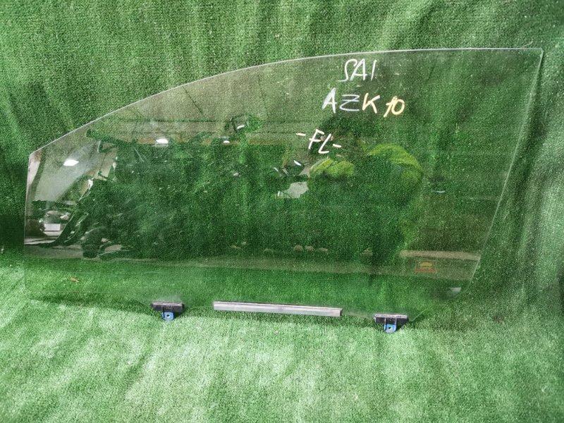 Стекло Toyota Sai AZK10 2AZFXE переднее левое (б/у)