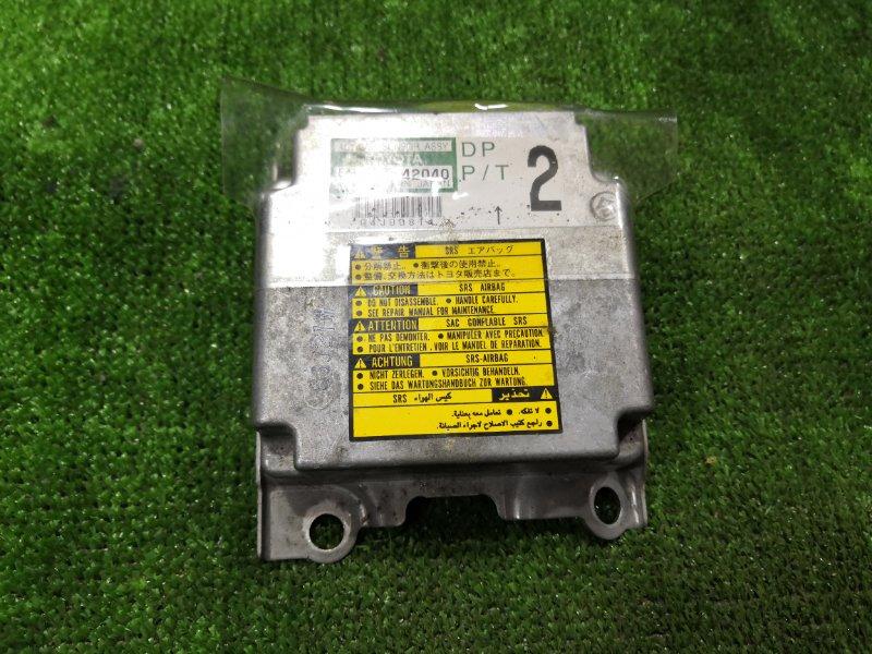 Блок управления airbag Toyota Rav4 SXA10 3SGE 1997 (б/у)