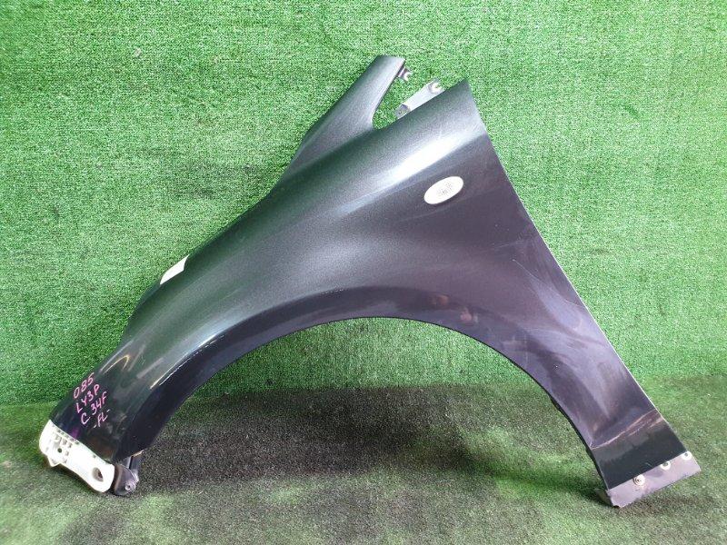 Крыло Mazda Mpv LY3P L3VE 2006 переднее левое (б/у)