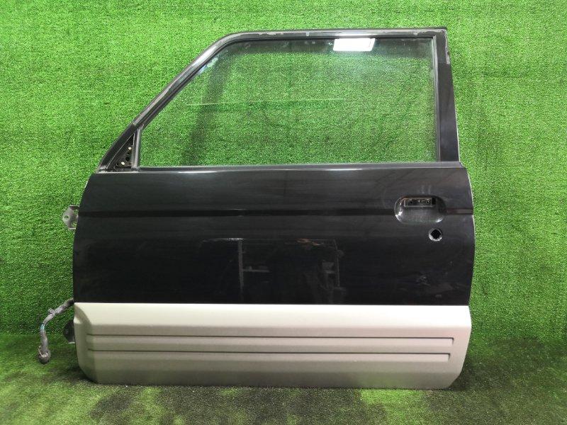 Дверь Mitsubishi Pajero Jr H57A 4A31 1996 передняя левая (б/у)