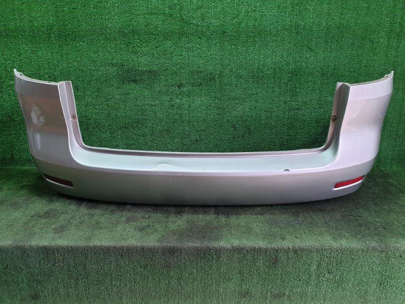 Бампер Toyota Corolla Spacio ZZE122 1ZZFE 2003 задний (б/у)