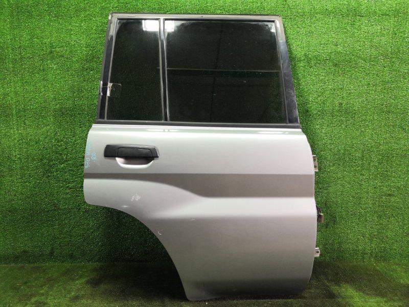 Дверь Mitsubishi Pajero Io H76W 4G93 1998 задняя правая (б/у)