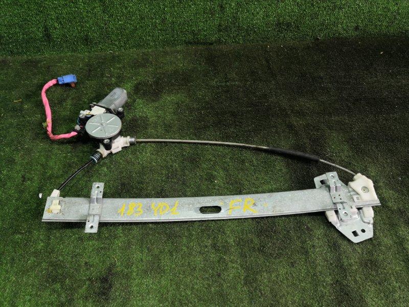 Стеклоподъемник Honda Mdx YD1 J35A 2003 передний правый (б/у)